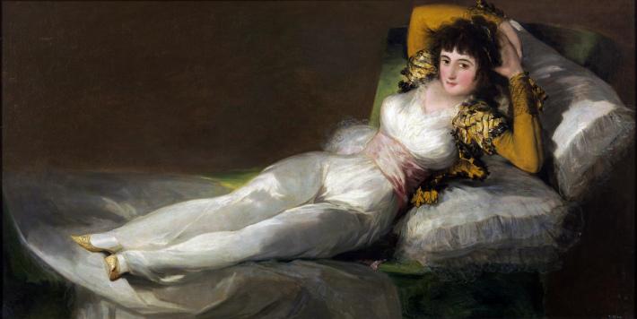 Francisco Goya; Maja imbracata, Foto: liberallifestyles.com