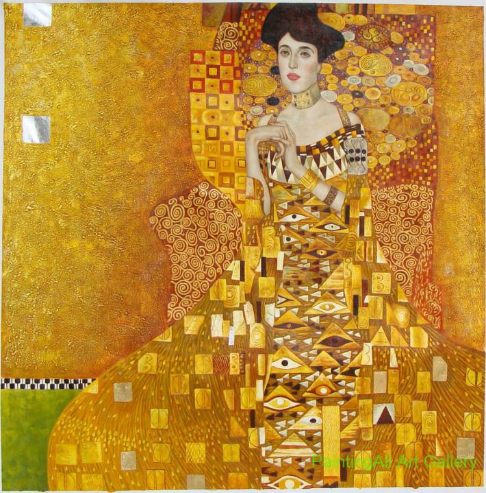 Gustav Klimt Adele Bloch-Bauer I, Foto: colortrincheraensamble.blogspot.ro