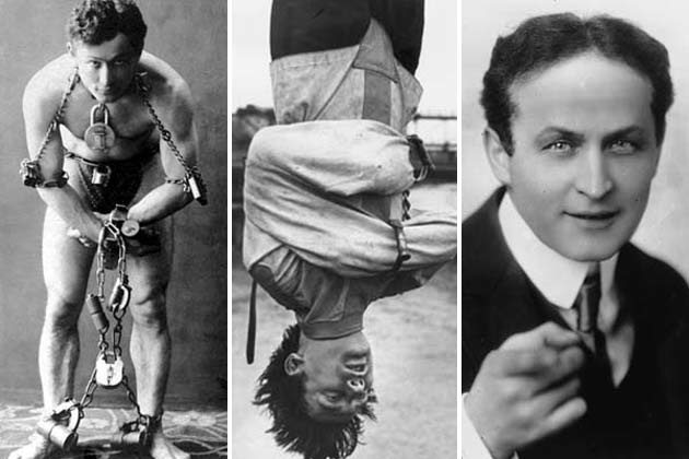 Harry Houdini, Foto: brownwatch.squarespace.com