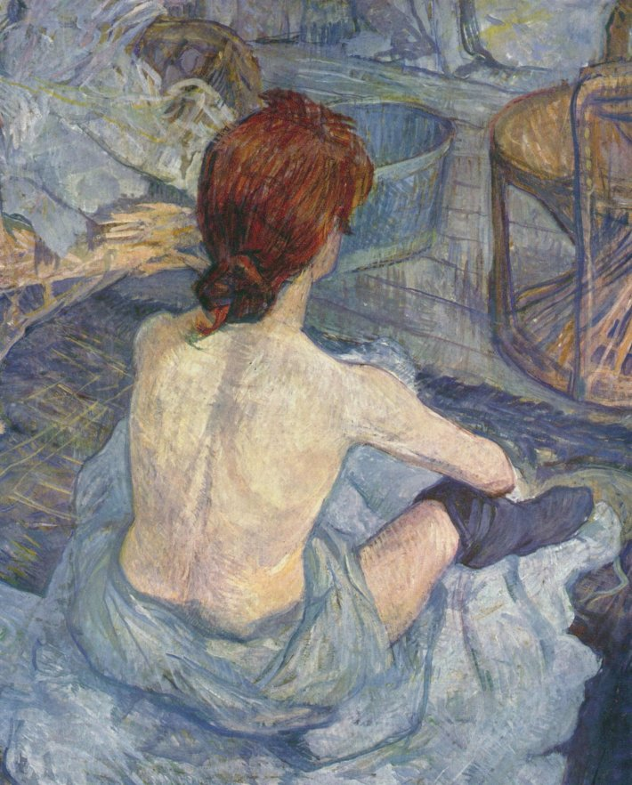 Henri de Toulouse-Lautrec; La toilette, Foto: blablidicecosas.wordpress.com