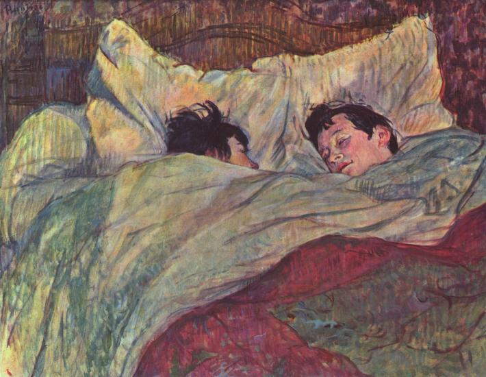 Henri de Toulouse-Lautrec; Patul, Foto: silverandexact.com