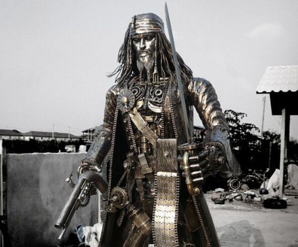 Krittayako Chaijit; Jack Sparrow, Foto: zonamantap.blogspot.ro