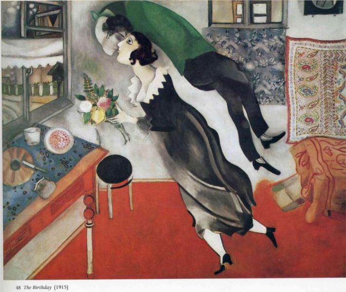 Marc Chagall; Ziua de nastere, Foto: taringa.net