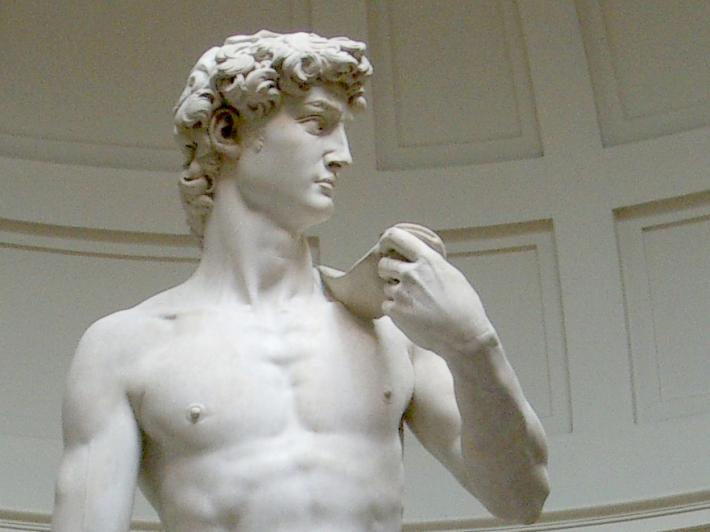Michelangelo Buonarroti; David, Foto: shanalafore.com