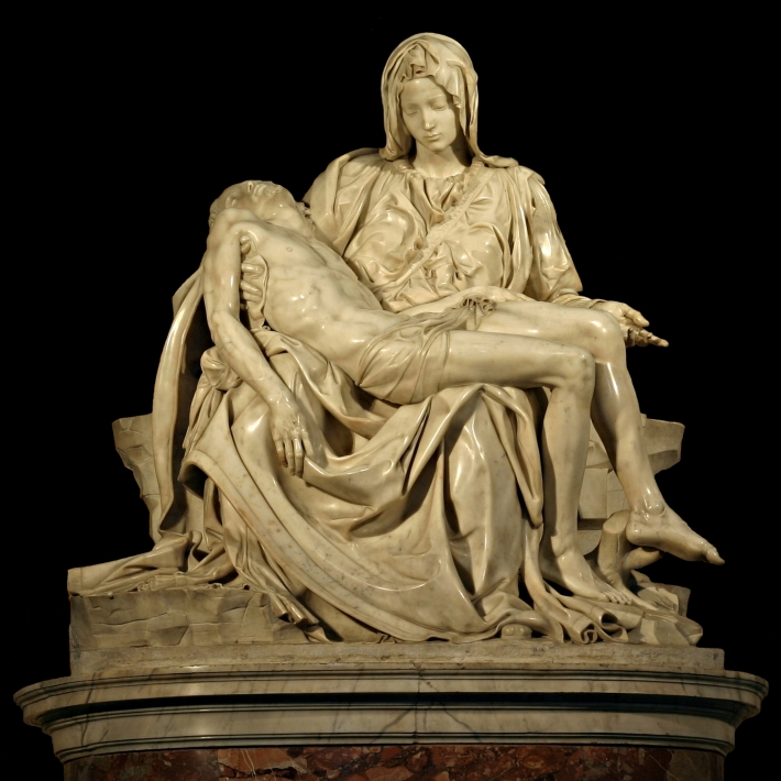 Michelangelo Buonarroti; Pieta, Foto: nydla.wordpress.com