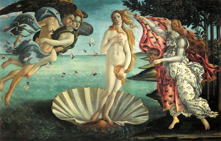 Nasterea lui Venus, Foto: yogafoodtravel.wordpress.com