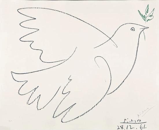 Pablo Picasso; Pacea, Foto: oliveoilsource.com