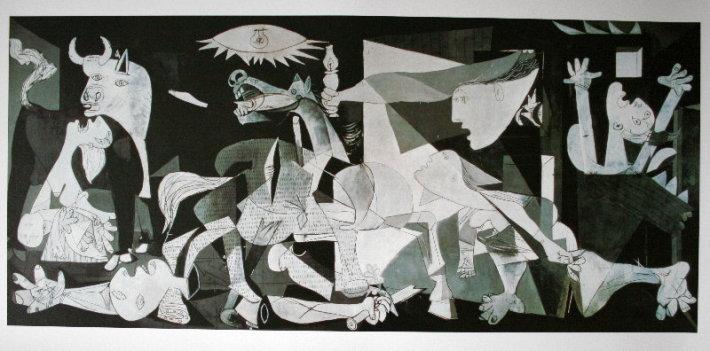 Pablo Picasso guernica, Foto: danielaraimondidotcom.wordpress.com