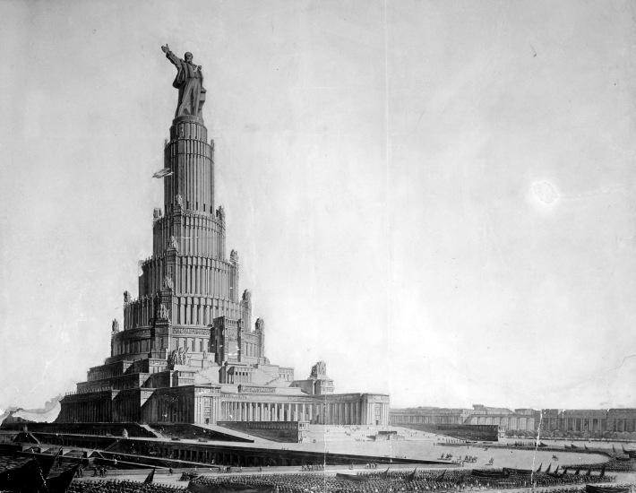 Palatul Sovietelor, Foto: ministerievanarchitectuur.wordpress.com
