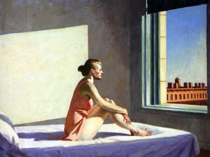 Pictura de Edward Hopper, Foto: girasoliazzurri.wordpress.com
