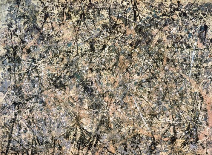 Jackson Pollock; Nr 1, Foto: elrincondegarm.blogspot.ro