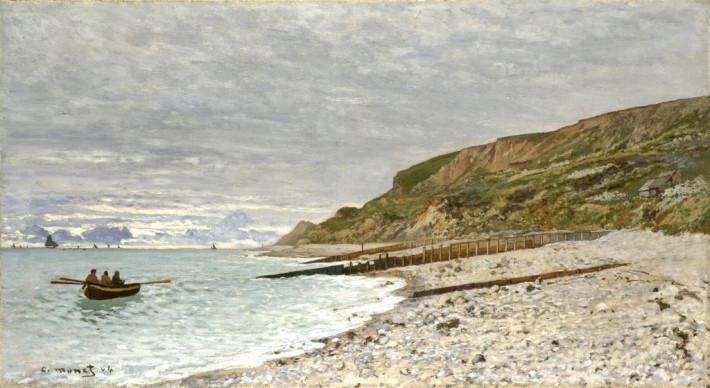 Claude Monet; Pointe de la Hève at Sainte-Adresse, Foto: dididadidi.com