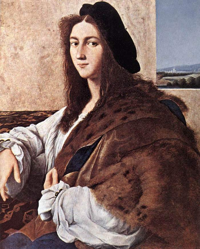 Raffaello Sanzio da Urbino; Portretul unui tanar, Foto: g1b2i3.wordpress.com