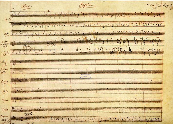Recviem; Wolfgang Amadeus Mozart, Foto: cristinaradus.wordpress.com