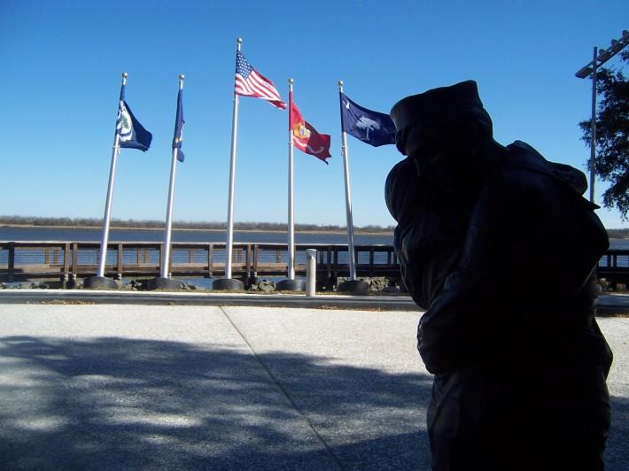 Sculptura de Stanley Bleifeld, Foto: navyyardsc.wordpress.com