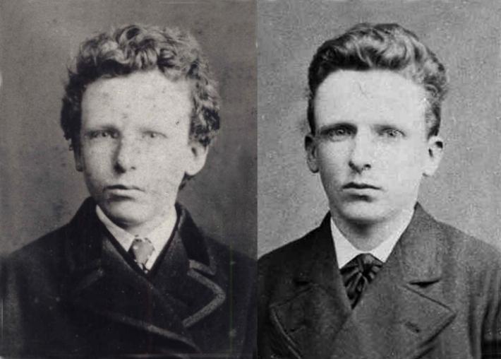 Theo Van Gogh dreapta, Foto: albuenchapinbananero.blogspot.ro