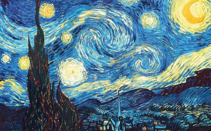 Vincent Van-Gogh, Noapte instelata, Foto: momentumblog-jason.blogspot.ro