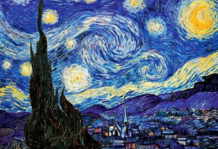 Vincent van Gogh; Noapte instelata, Foto: katherinealvarado1.blogspot.ro
