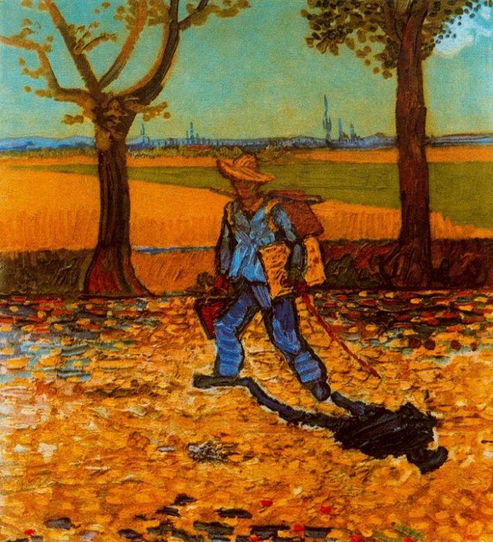 Vincent van Gogh; Pictorul pe drum spre Tarascon, Foto: fragmentsdevida.wordpress.com