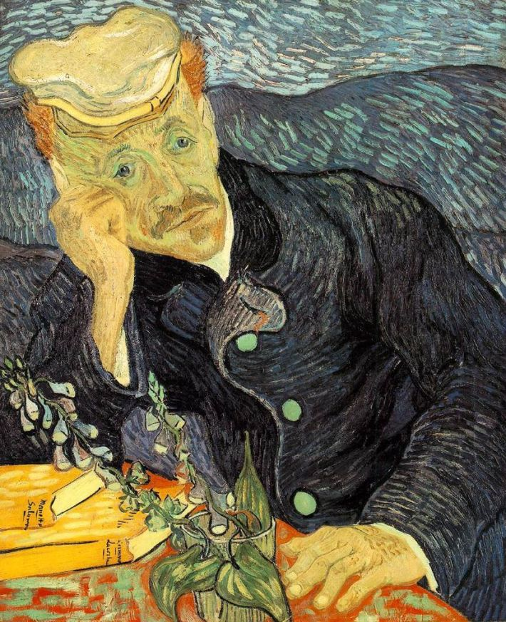 Vincent van Gogh; Portretul doctorului Gachet, Foto: tfsimon.com
