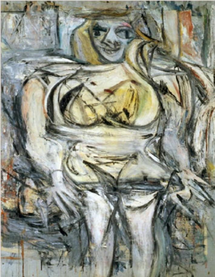 Willem de Kooning; Femeie III, Foto: taringa.net