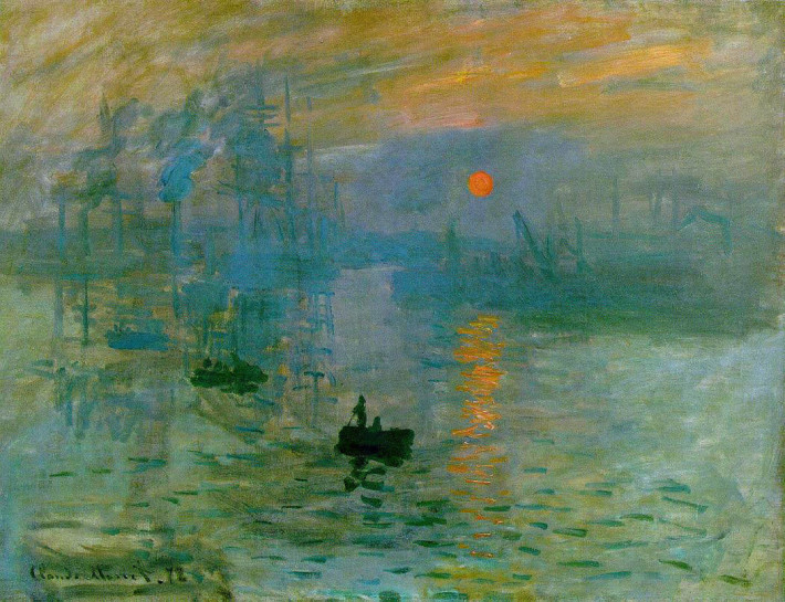 Claude Monet; Impression, soleil levant, Foto: g1b2i3.wordpress.com