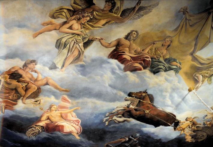 Pictura murala tavan, Foto: alltackle.com
