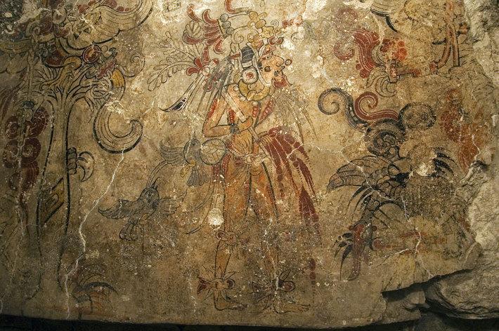 Pictura murala veche, Foto: forum.mmajunkie.com