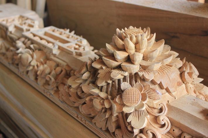 Sculptura din lemn, Foto: eatthisatethat.wordpress.com