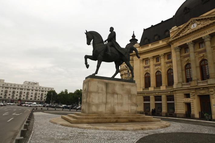 Statuia ecvestra a regelui Carol I, Foto: ampt.ro