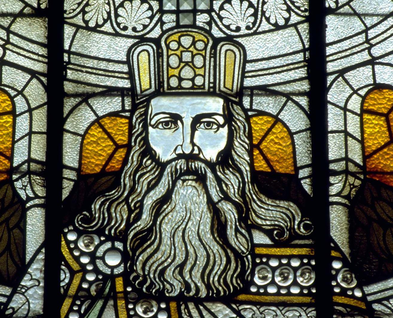 Charlemagne, vitraliu