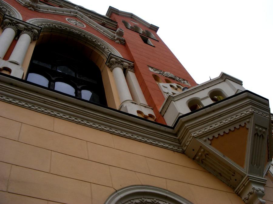 palat episcopal balcon