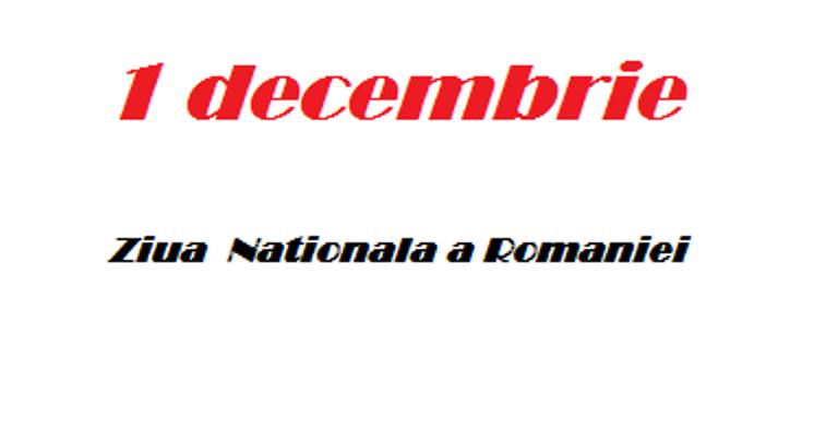 1 decembrie