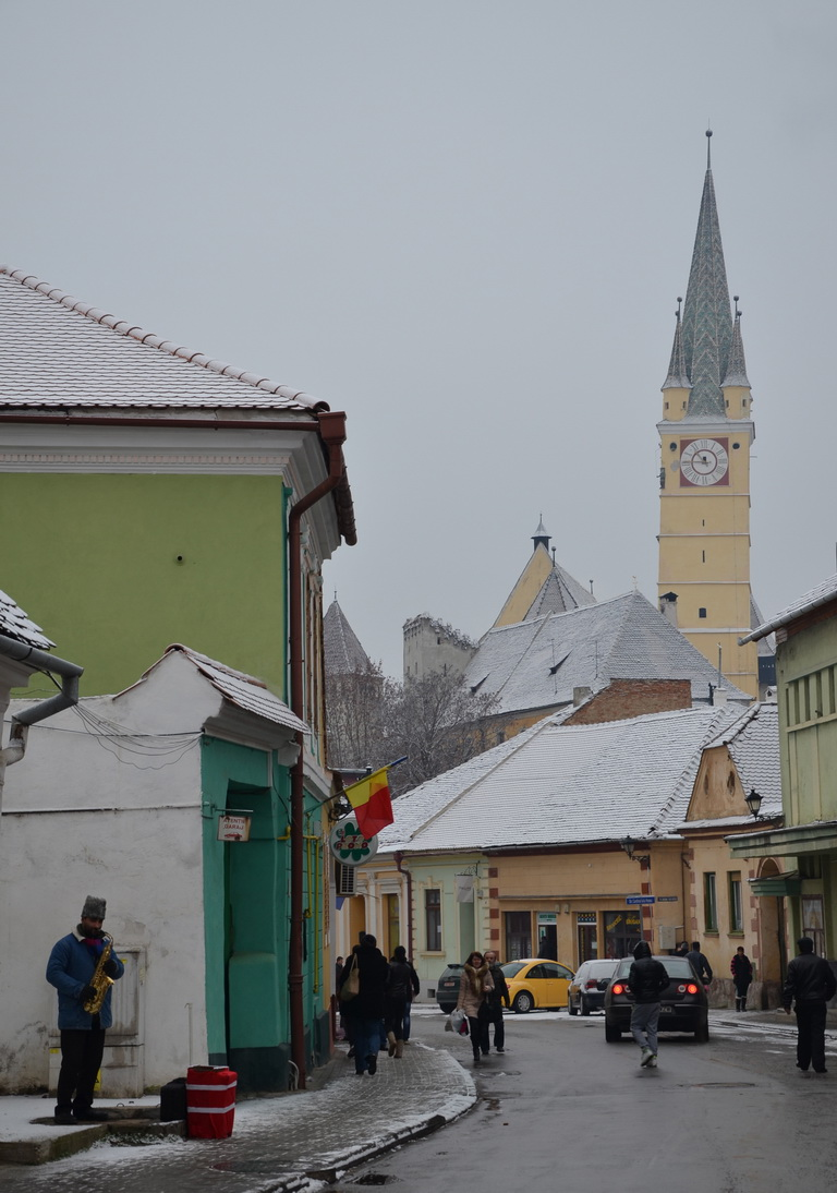 205 - Medias - Turnul bisericii Sf. Margareta - 12.12.2013