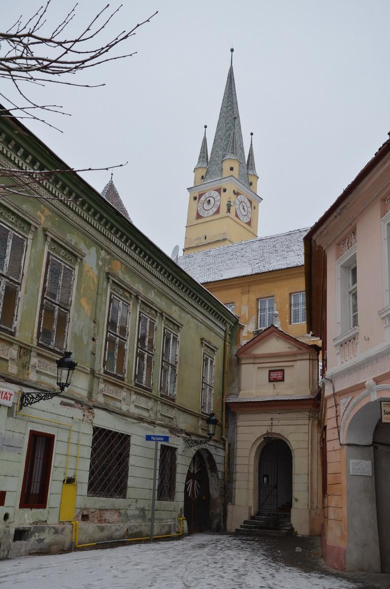 208 - Medias - Turnul bisericii Sf. Margareta - 12.12.2013