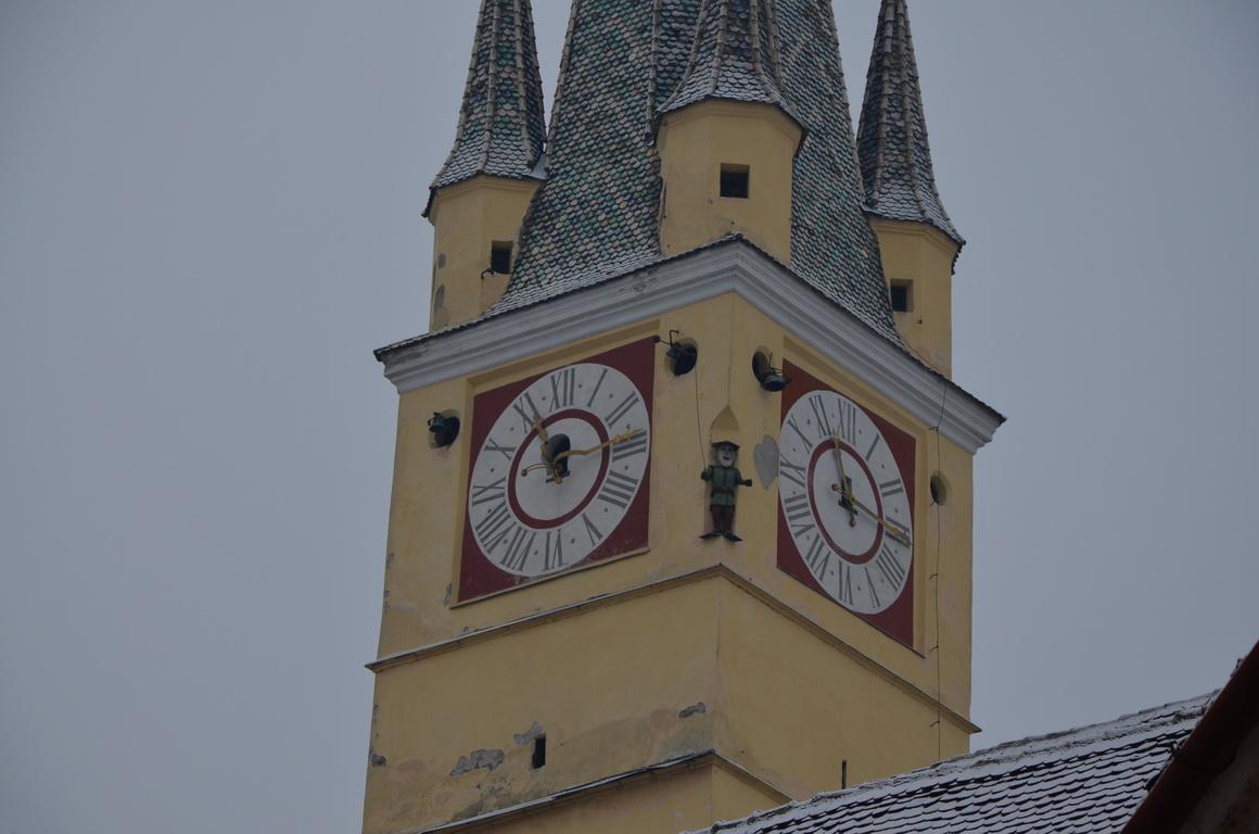 222 - Medias - Turnul bisericii Sf. Margareta - 12.12.2013