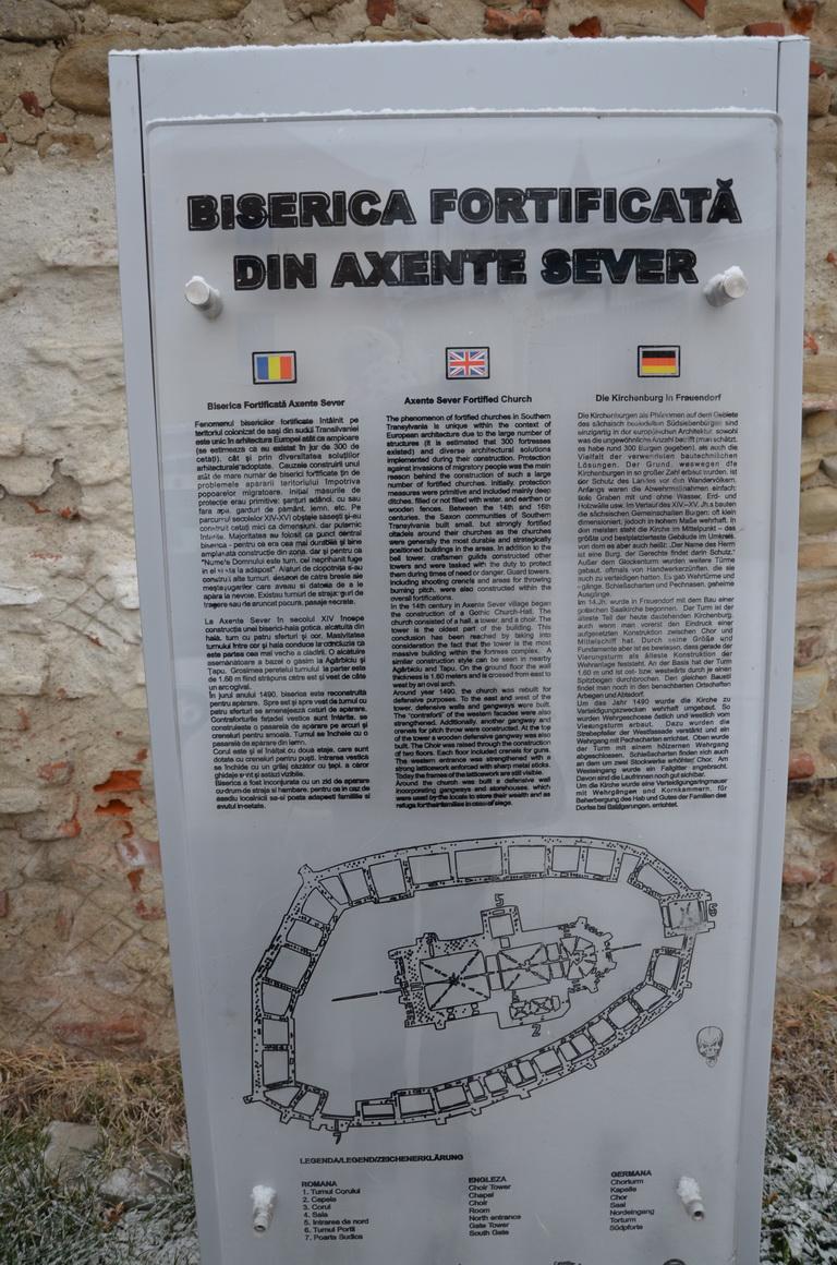 52 - Axente Sever - Biserica fortificata - 12.12.2013