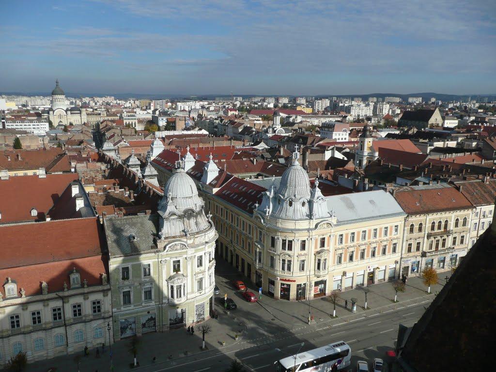cladirile gemene din Cluj