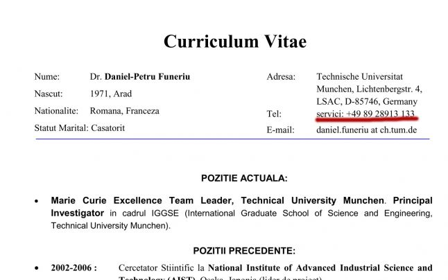 ce inseamna expresia latineasca curriculum vitae