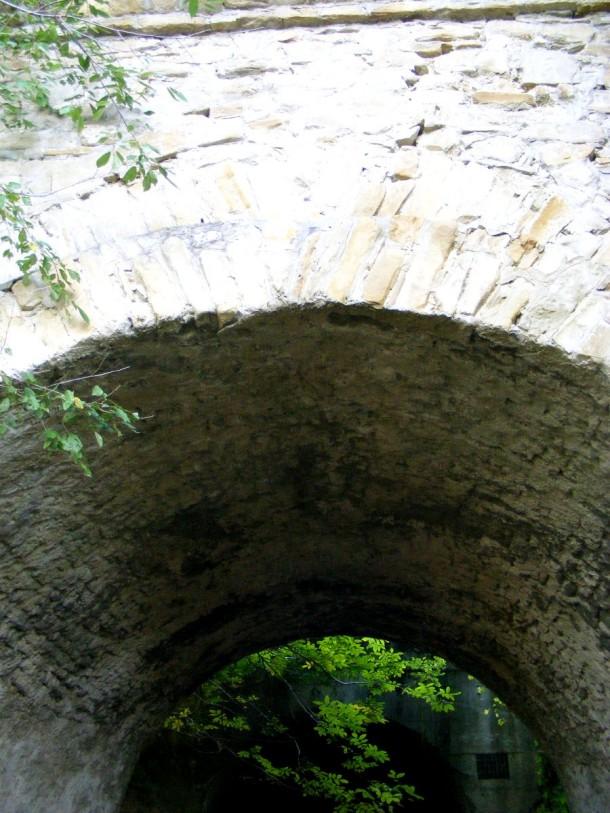 detaliu arcada pod garana