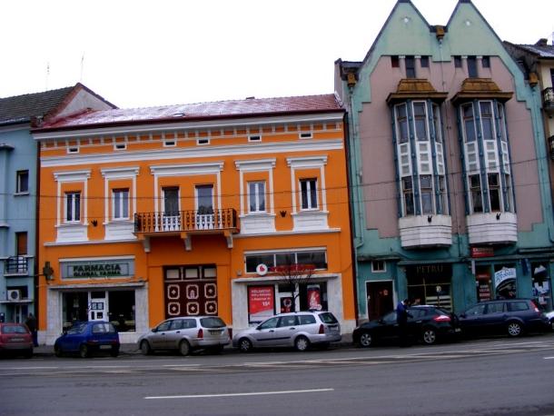 centrul vechi colorat targu mures