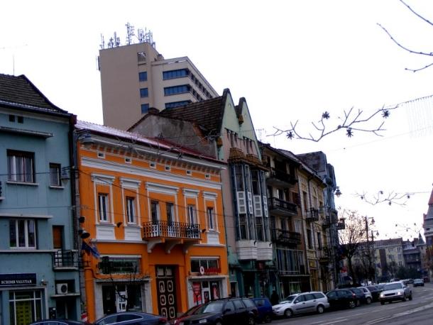 centrul vechi targu mures