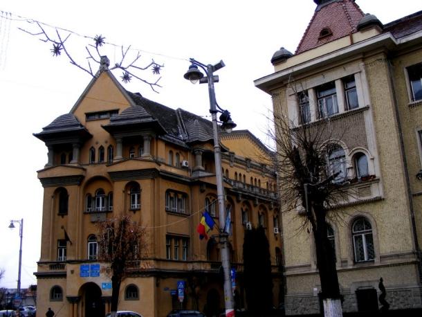 palat centrul vechi targu mures