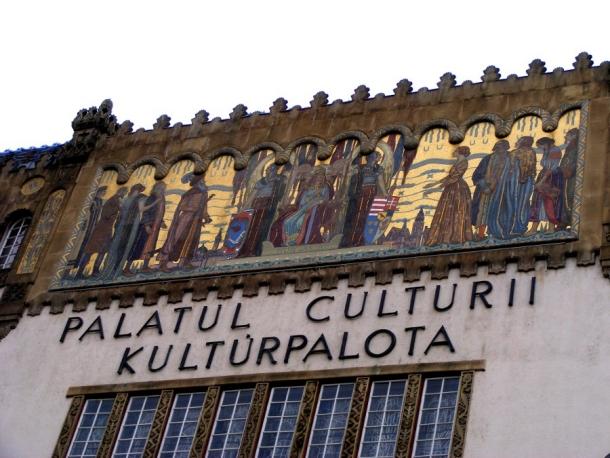 palatul culturii fresce targu mures