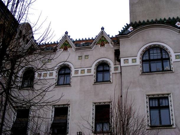 palatul prefecturii targu mures fatada