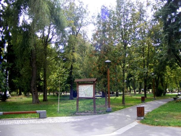 parcul central miercurea ciuc