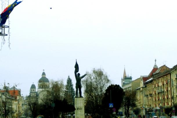 statuia ostasului din targu mures