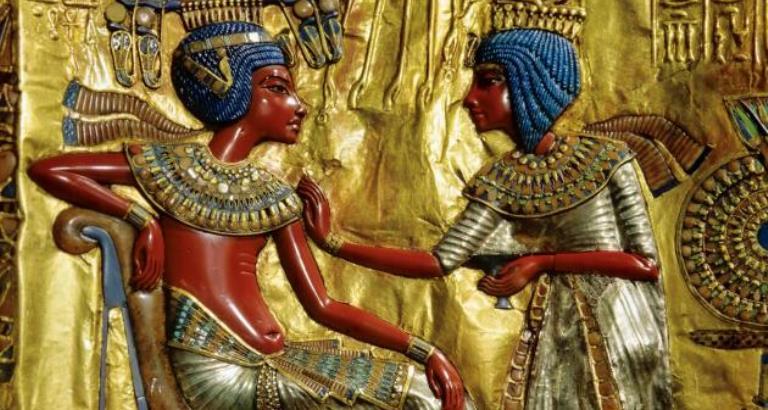 Ankhesenamon și Tutankhamon