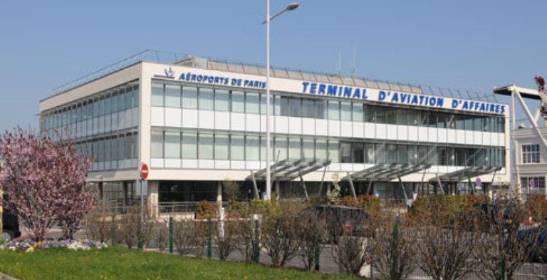 Terminal al Aeroportului Paris-Le Bourget