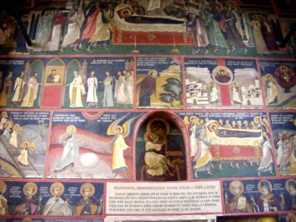 biserica borzesti testament
